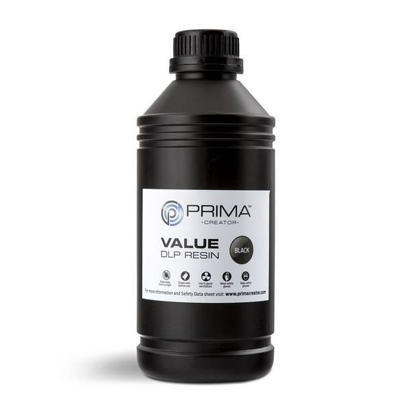 STANDARD UV DLP Resin BLACK 1000ml - PrimaCreator