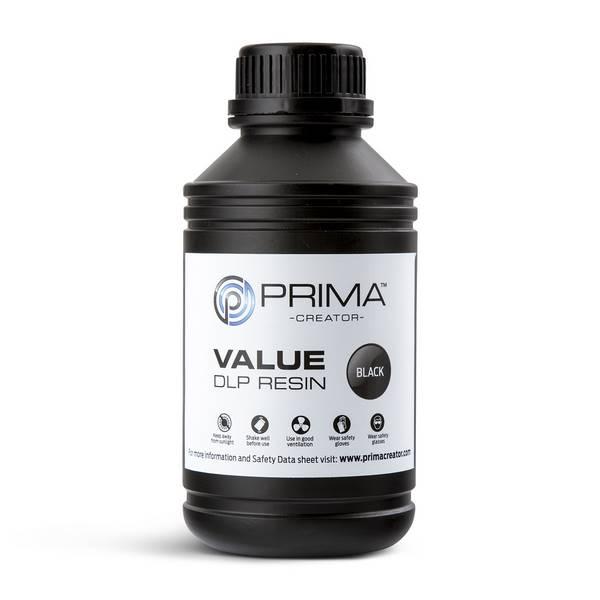 STANDARD UV DLP Resin BLACK 500ml - PrimaCreator