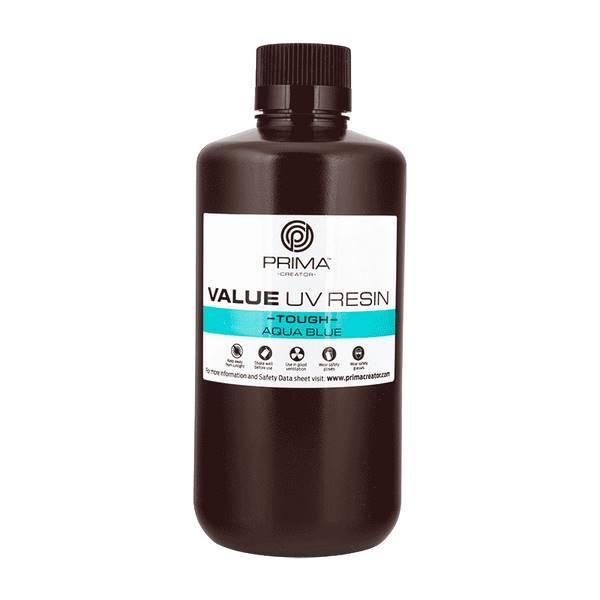 TOUGH UV DLP Resin AQUA BLUE 1000ml - PrimaCreator