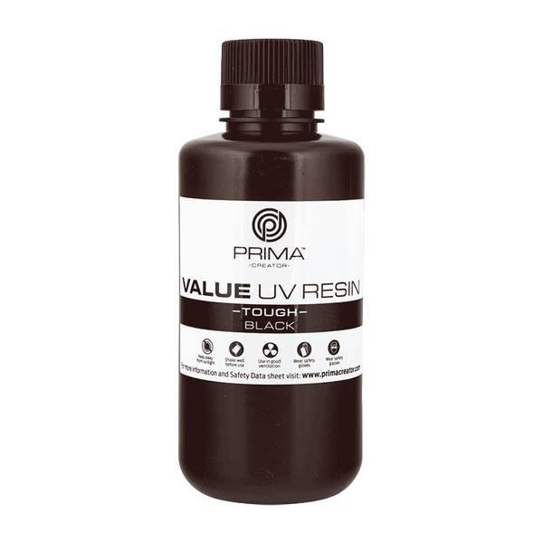 TOUGH UV DLP Resin BLACK 500ml - PrimaCreator
