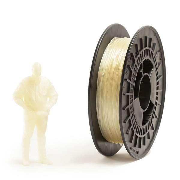 EUMAKERS FLEX filament Transparent 1.75mm 500g