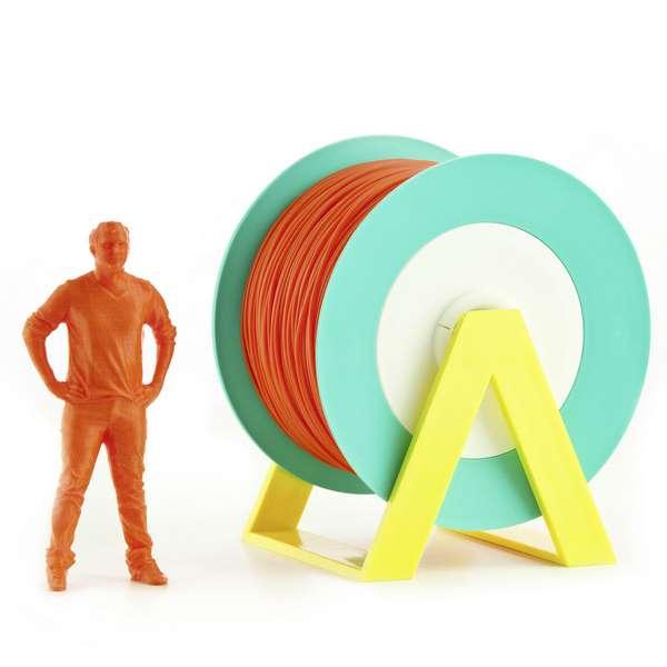 EUMAKERS PLA filament Dark Orange 1.75mm 1000g