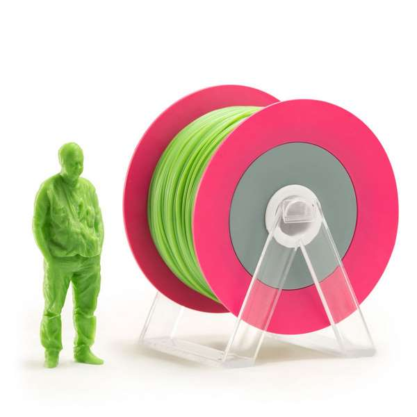 EUMAKERS PLA filament Glossy Green 1.75mm 1000g