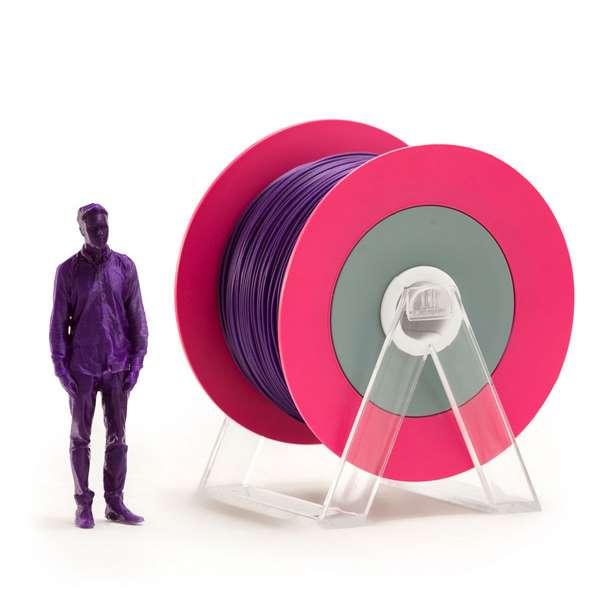 EUMAKERS PLA filament Glossy Violet 1.75mm 1000g