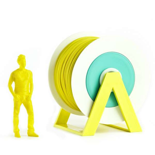 EUMAKERS PLA filament Mustard Yellow 1.75mm 1000g