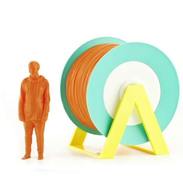 EUMAKERS PLA filament Orange 1.75mm 1000g