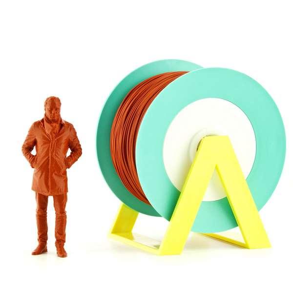 EUMAKERS PLA filament Brick Orange 2.85mm 1000g