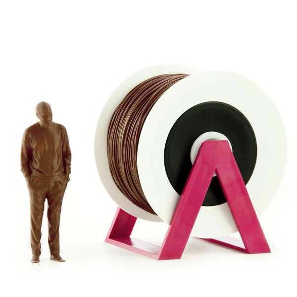 EUMAKERS PLA filament Dark Brown 2.85mm 1000g