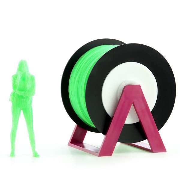 EUMAKERS PLA filament Fluorescent Green 2.85mm 1000g