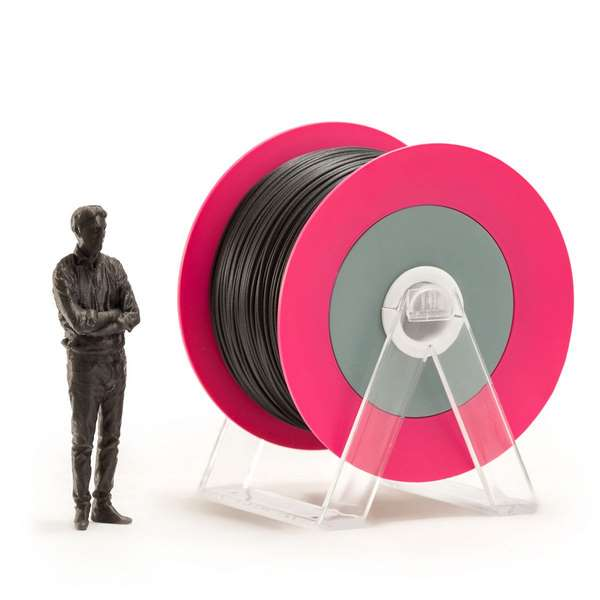 EUMAKERS PLA filament Glossy Black 2.85mm 1000g