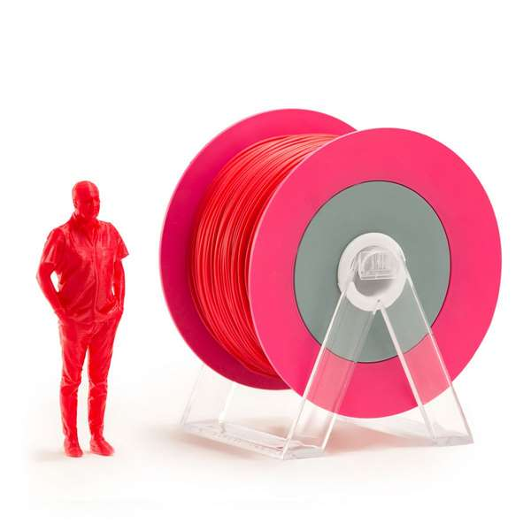 EUMAKERS PLA filament Glossy Red 2.85mm 1000g