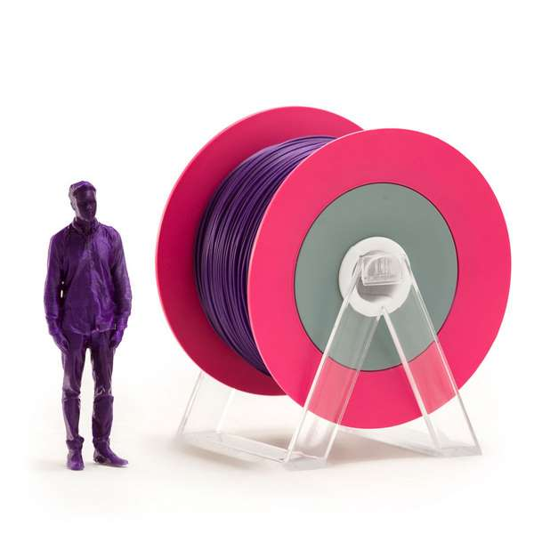 EUMAKERS PLA filament Glossy Violet 2.85mm 1000g