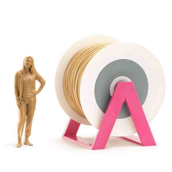 EUMAKERS PLA filament Gold 2.85mm 1000g