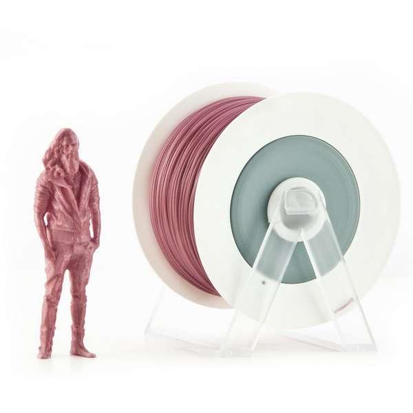 EUMAKERS PLA filament Metallic Dark Antique Pink 2.85mm 1000g
