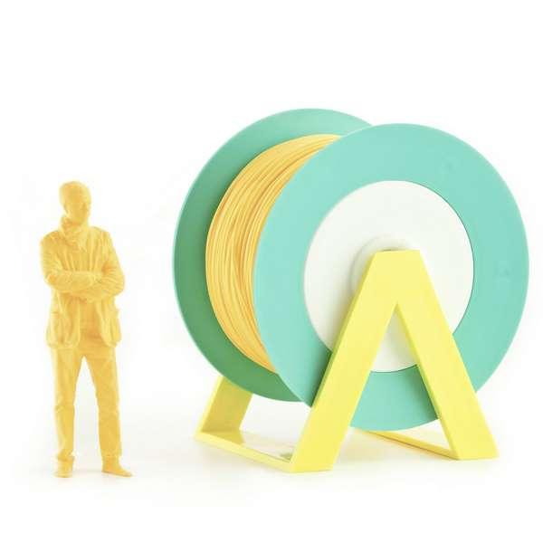 EUMAKERS PLA filament Pastel Orange 2.85mm 1000g