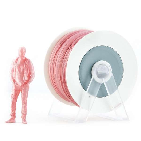 EUMAKERS PLA filament Pearl Pink 2.85mm 1000g