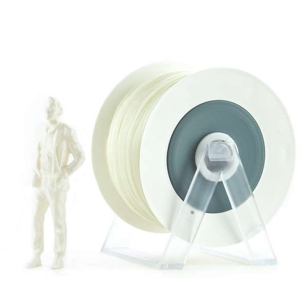 EUMAKERS PLA filament Pearl White 2.85mm 1000g