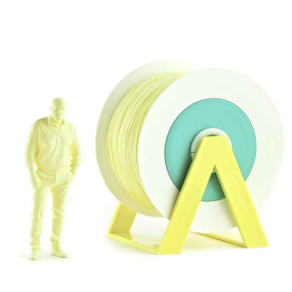 EUMAKERS PLA filament Straw Yellow 2.85mm 1000g