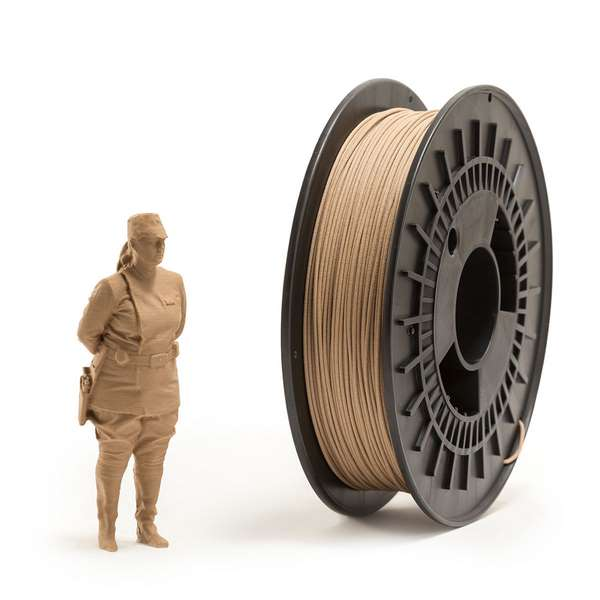 EUMAKERS PLA filament Wood 2.85mm 500g