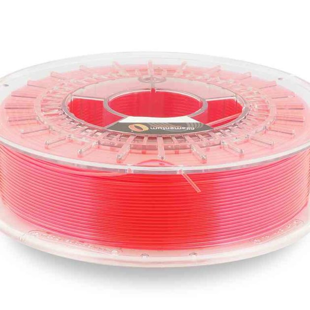 Fillamentum CPE HG100 Neon Pink Transparent 1.75mm 750g