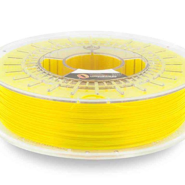Fillamentum CPE HG100 Neon Yellow Transparent 2.85mm 750g