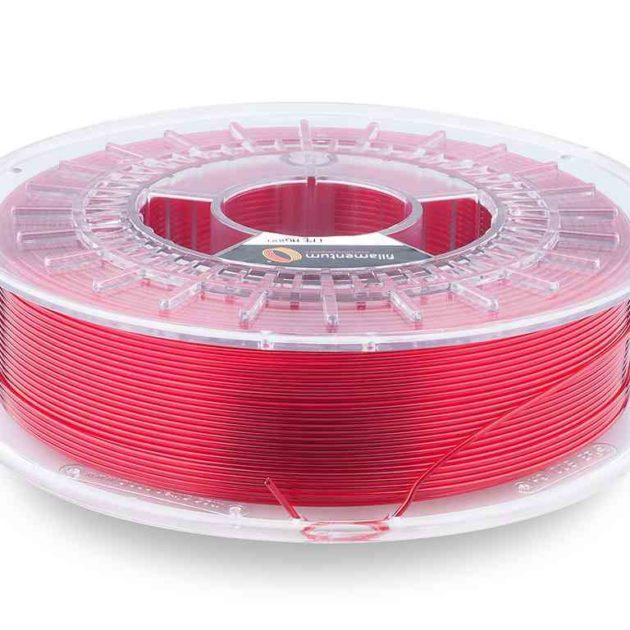 Fillamentum CPE HG100 Red Hood Transparent 1.75mm 750g