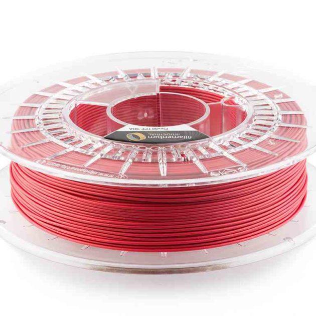 Fillamentum TPE 90A Flexfill Signal Red 1.75mm 500g