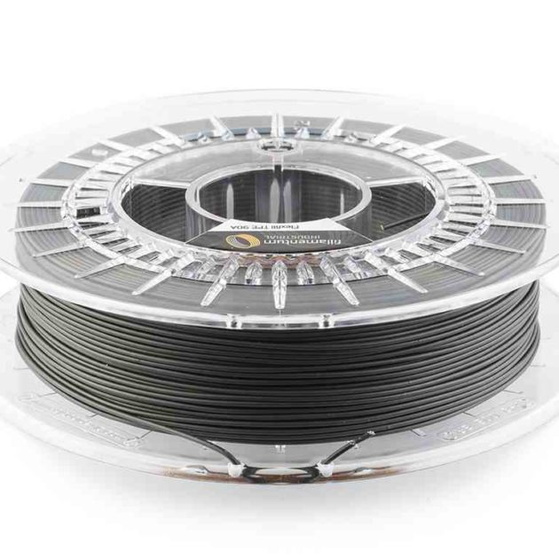 Fillamentum TPE 90A Flexfill Traffic Black 2.85mm 500g