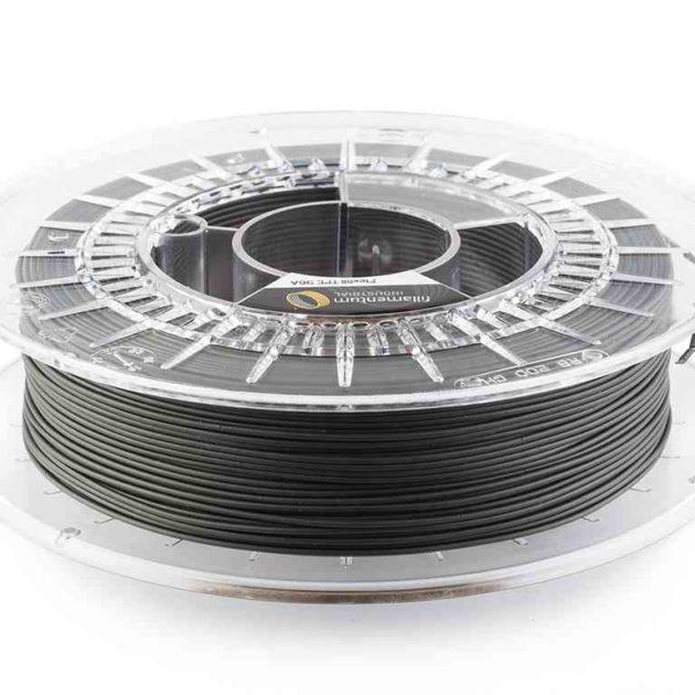 Fillamentum TPE 96A Flexfill Traffic Black 2.85mm 500g