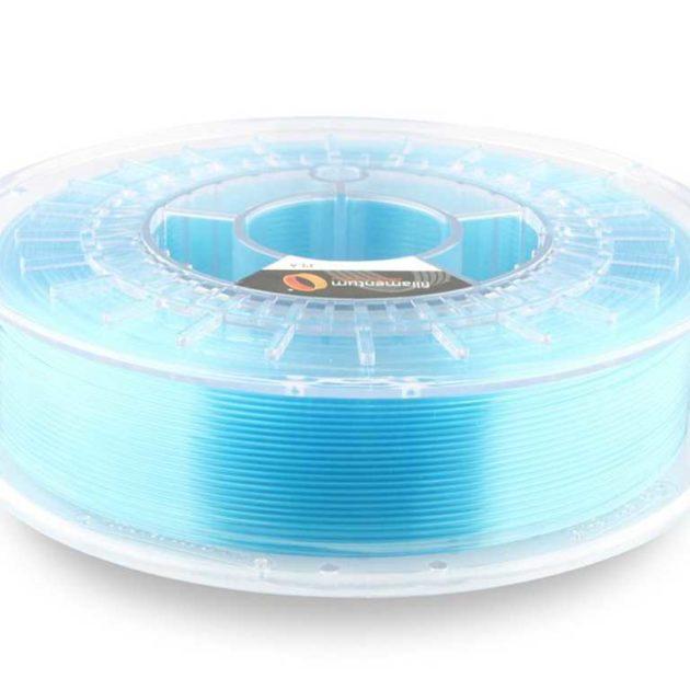 Fillamentum PLA Crystal Clear Iceland Blue 2.85mm 750g