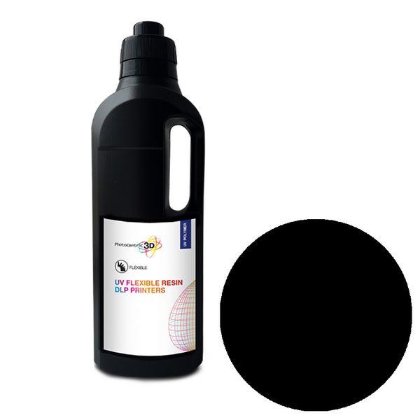 UV DLP Flexibile Resin BLACK 1000ml - Photocentric3D