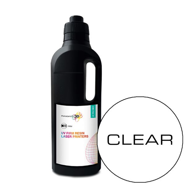 UV LASER Firm Resin SLA CLEAR 1000ml - Photocentric3D