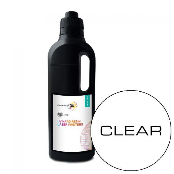 UV LASER Hard Resin SLA CLEAR 1000ml - Photocentric3D