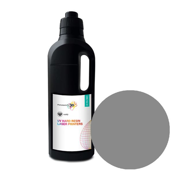 UV LASER Hard Resin SLA GREY 1000ml - Photocentric3D