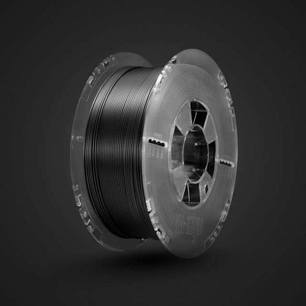 Advanced Matt PLA filament Black 1.75mm 200g