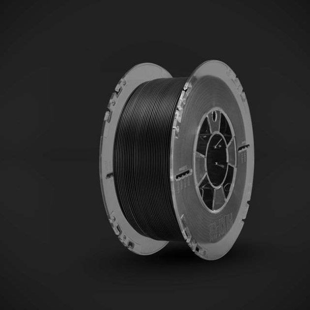 E-HT PLA filament Anthracite Back 1.75mm 850g