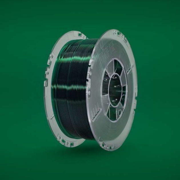 Lucent PLA filament Green Bottle 1.75mm 850g