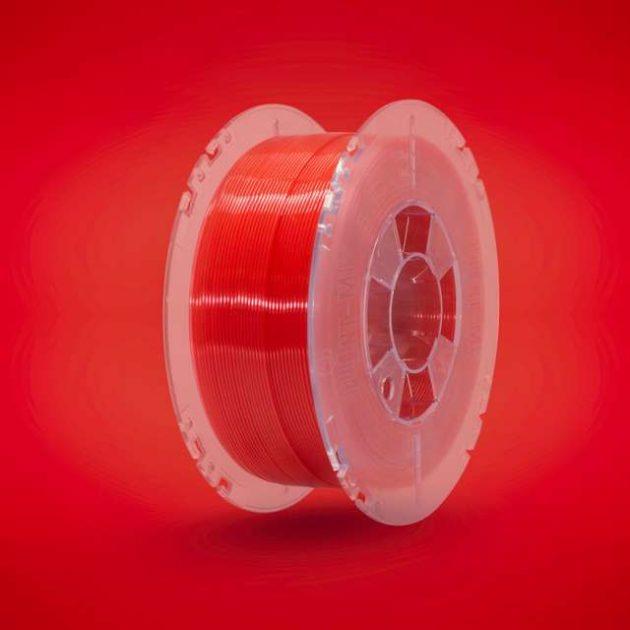 Lucent PLA filament Rubin Red 1.75mm 200g