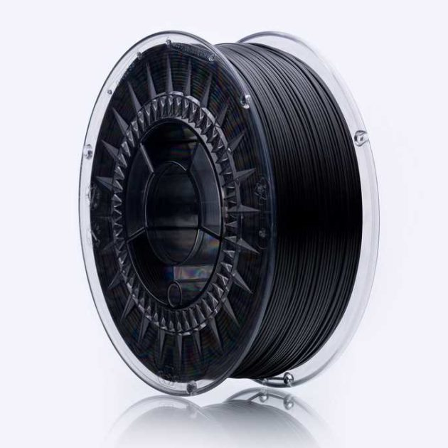 Smooth ABS filament Black Volcano 1.75mm 850g