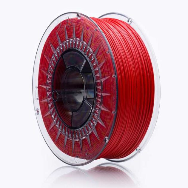 Smooth ABS filament Cherry Red 1.75mm 850g