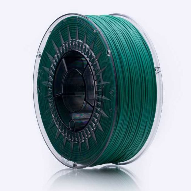 Smooth ABS filament Dark Green 1.75mm 850g