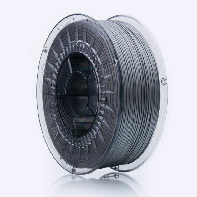 Smooth ABS filament Silver Shine 1.75mm 850g