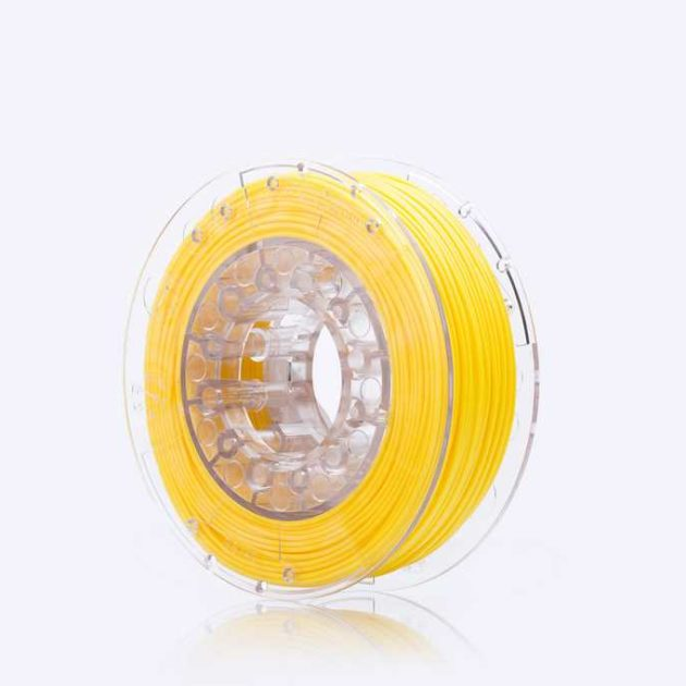 Smooth ABS filament Yellow 1.75mm 200g