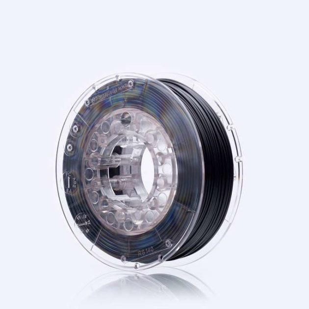 Smooth ASA filament Black Volcano 1.75mm 200g