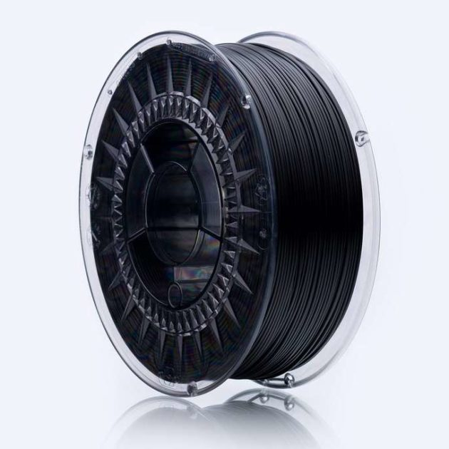 Smooth ASA filament Black Volcano 1.75mm 850g