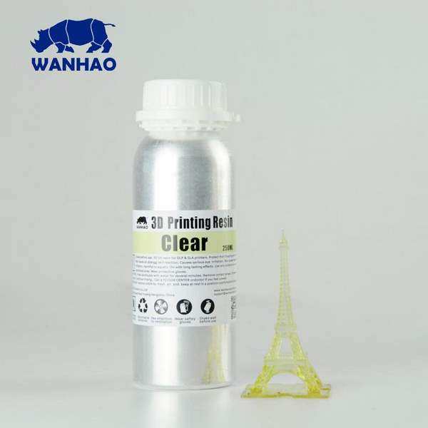 WATER WASHABLE UV Resin CLEAR 1000ml - WANHAO