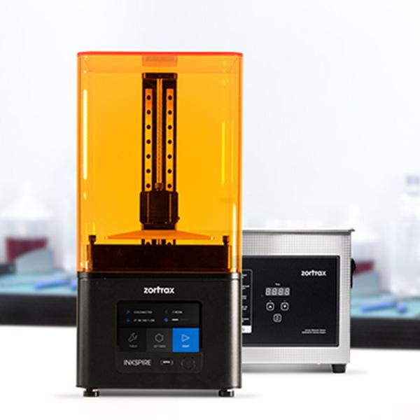 Zortrax Inkspire & Zortrax Ultrasonic Cleaner - 3D tiskalnik