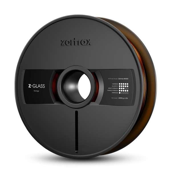 Zortrax Z-GLASS filament Orange 2000g