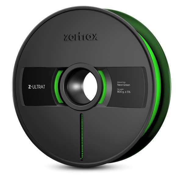 Zortrax Z-ULTRAT filament Neon Green 800g