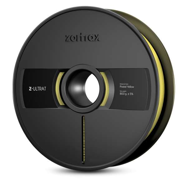 Zortrax Z-ULTRAT filament Pastel Yellow 800g